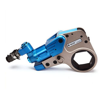 Hexagon cassette hydraulic torque wrenches (Al-Ti alloy)